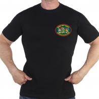 Черная футболка ВПБС-ММГ-ДШМГ Подразделения Боевого Резерва