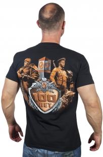 Мужская футболка «Юбилей Погранвойск» по выгодной цене