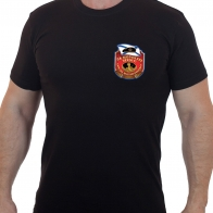 Стильная мужская футболка «За Морскую Пехоту».