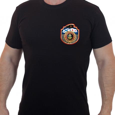 Мужская футболка с коротким рукавом «За службу в Морской Пехоте».