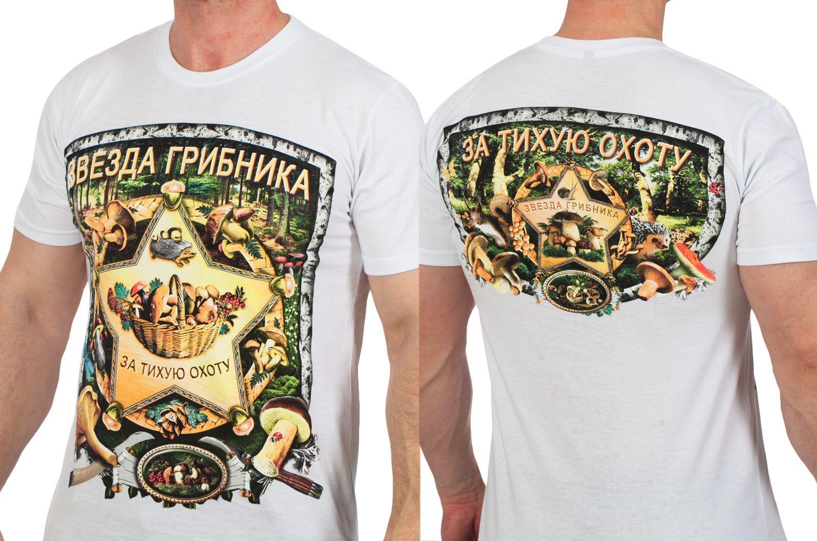 """Заказать футболки """"Грибы"""" оптом"""