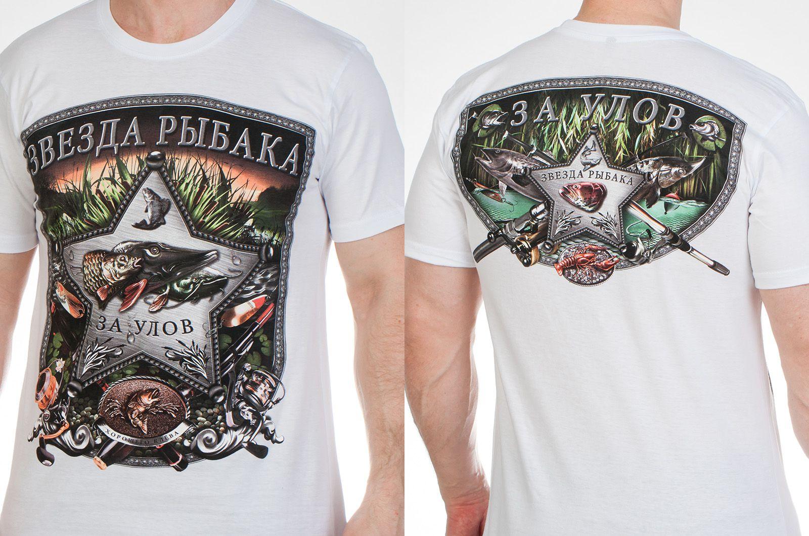 Заказать футболки с рыбами с доставкой