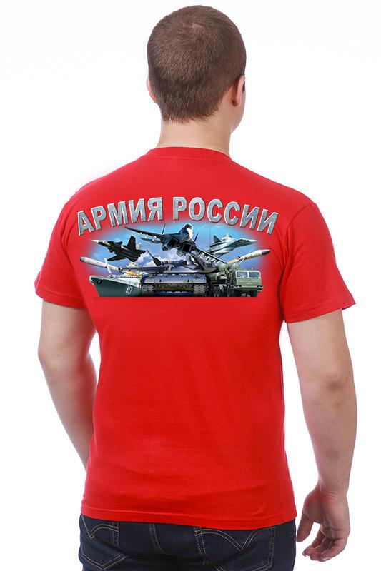 """Купить футболку """"Здравствуй НАТО, Армия России"""""""