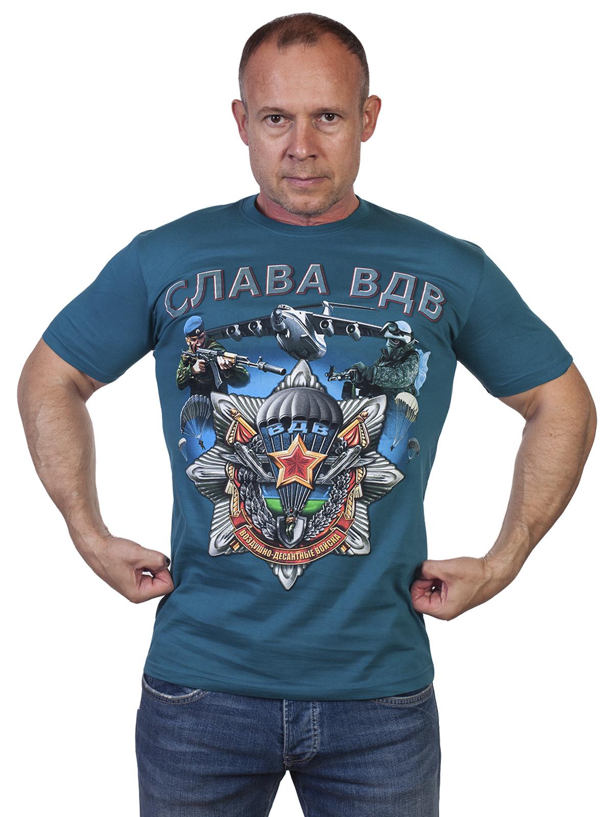 Эксклюзивная футболка ВДВ – мощный подарок военному мужчине