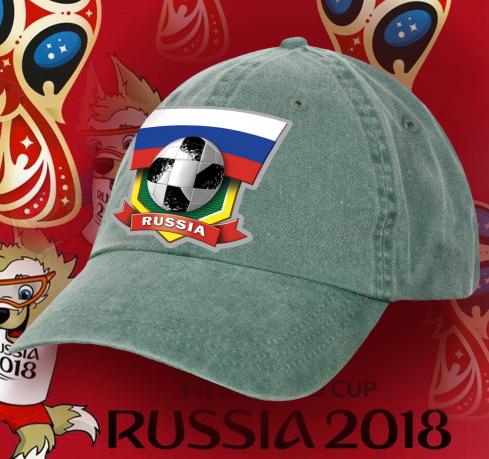 Футбольная бейсболка Russia