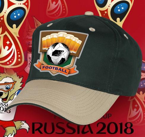Футбольная кепка болельщика.