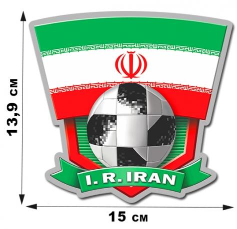 Футбольная наклейка Иран.