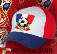 Футбольная яркая кепка сборной Франции