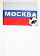 """Флажок-триколор """"Москва""""."""