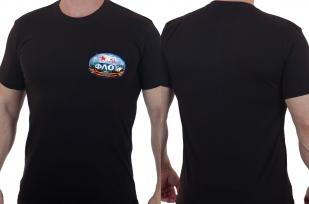 Классическая мужская футболка с эмблемой Военно-Морского Флота.