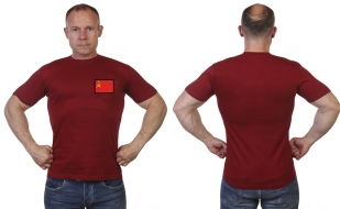 Мужская футболка с флагом СССР