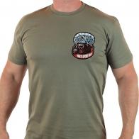 Десантная мужская футболка Медведь ВДВ-шник.