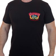 Милитари футболка из натурального хлопка МОРПЕХ.
