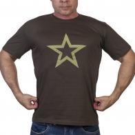 Мужская хаки футболка Армия России.