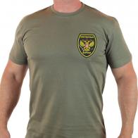 Натуральная мужская футболка Охотничьи Войска