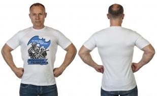 Мужская футболка с принтом Военная Разведка от Военпро