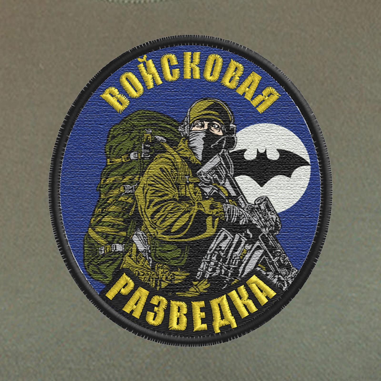 Мужская милитари футболка Войсковая Разведка