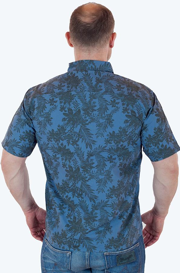 Гавайская рубашка с коротким рукавом от Weird Fish купить онлайн