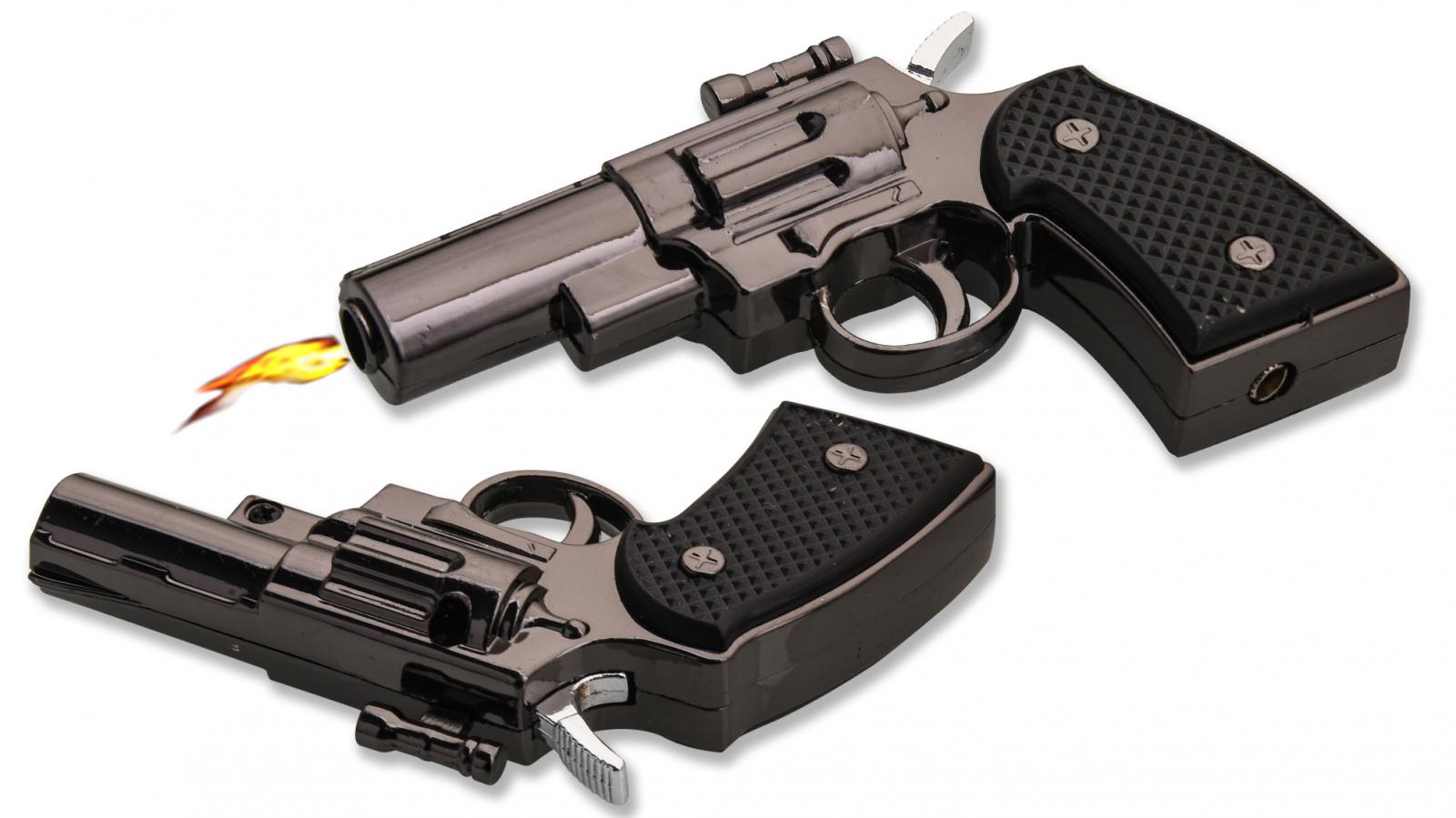 Газовая зажигалка пистолет