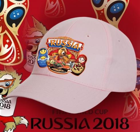 Женская патриотическая бейсболка Russia