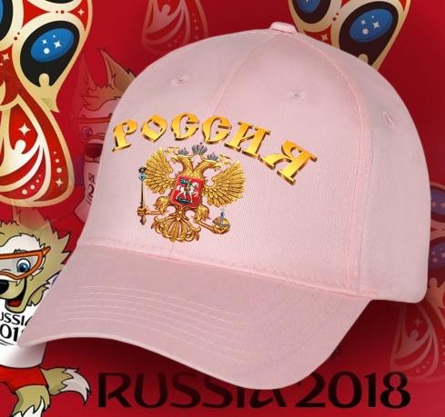 Нежнейшая женская бейсболка РОССИЯ