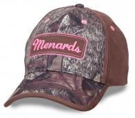 Женская камуфляжная бейсболка Menards