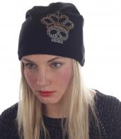 Недорогая женская шапка с флисом. Модный зимний тренд по сниженной цене. Всё проходящее, а мелкая машинная вязка – вечная! Элегантная классика, покорившая и подиумы, и улицы