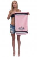 Брендовое женское полотенце с логотипом Juicy Couture.