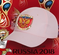 Женственная бейсболка с гербом России