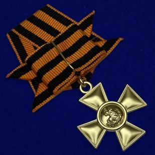 Георгиевский крест 1 степени с бантом
