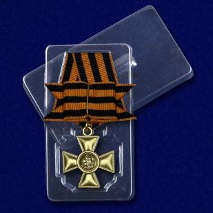 Георгиевский крест I степени (с бантом) с доставкой
