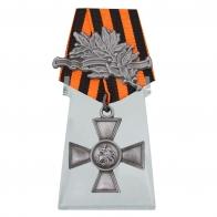 Георгиевский крест 3 степени на подставке