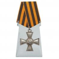 Георгиевский крест 4 степени на подставке