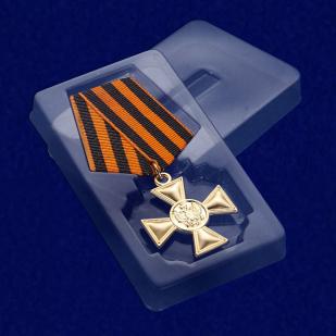 Георгиевский крест для иноверцев I степени - в футляре