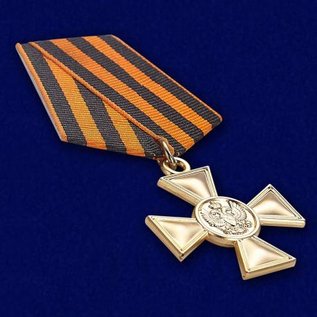 Георгиевский крест для иноверцев II степени - вид под углом