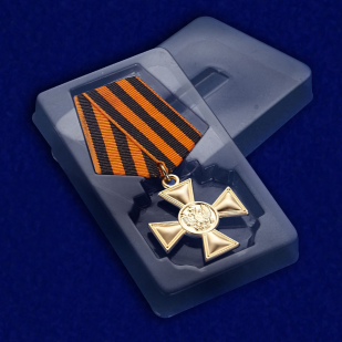 Георгиевский крест для иноверцев II степени - в футляре
