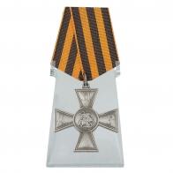 Георгиевский крест ДНР на подставке