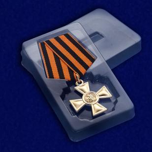Георгиевский крест I степени - в футляре