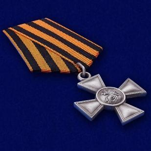 Георгиевский крест III степени - общий вид