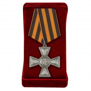 Георгиевский крест ДНР в футляре