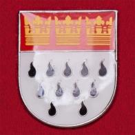"""Геральдический значок """"Герб города Кельн"""", Германия"""