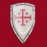 """Геральдический значок """"Иерусалимский крест"""" рыцарей-крестоносцев"""