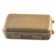 Герметичный контейнер для переноски гаджетов и аксессуаров (олива, средний)