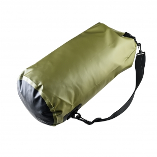 Герметичный водоотталкивающий баул Dry Bag (10 литров, олива)