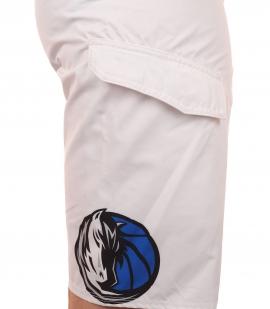 Гидрофобные бордшорты с эмблемой баскетбольного клуба НБА Dallas Mavericks - карман