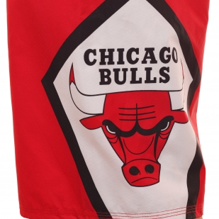 Гидрофобные бордшорты Chicago Bulls из революционного стрейча Diamond Deluxe