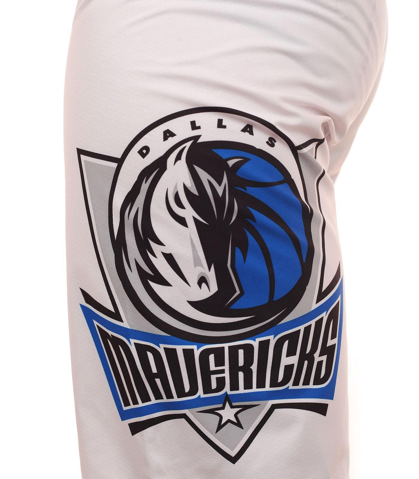 Гидрофобные бордшорты с эмблемой баскетбольного клуба НБА Dallas Mavericks - принт