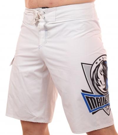 Гидрофобные бордшорты с эмблемой баскетбольного клуба НБА Dallas Mavericks