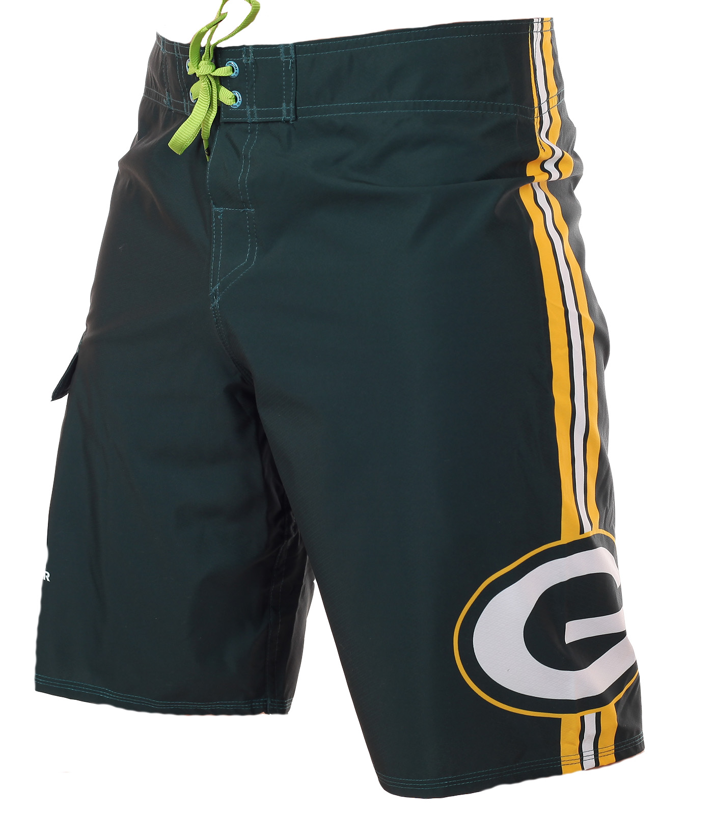 Гидрофобные бордшорты с логотипом футбольного клуба НФЛ Green Bay Packers - купить по низкой цене