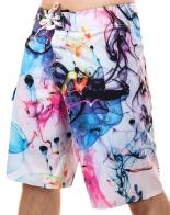 Гидрофобные шорты из инновационного стрейча. Для творческих покорителей пляжных красоток